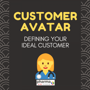 creating Pharma Personas for healthcare marketing. Customer Avatars for Target Marketing in Pharma.