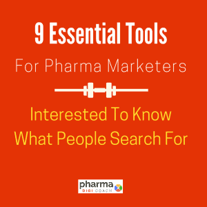 9 essential free market research tools for pharma marketers