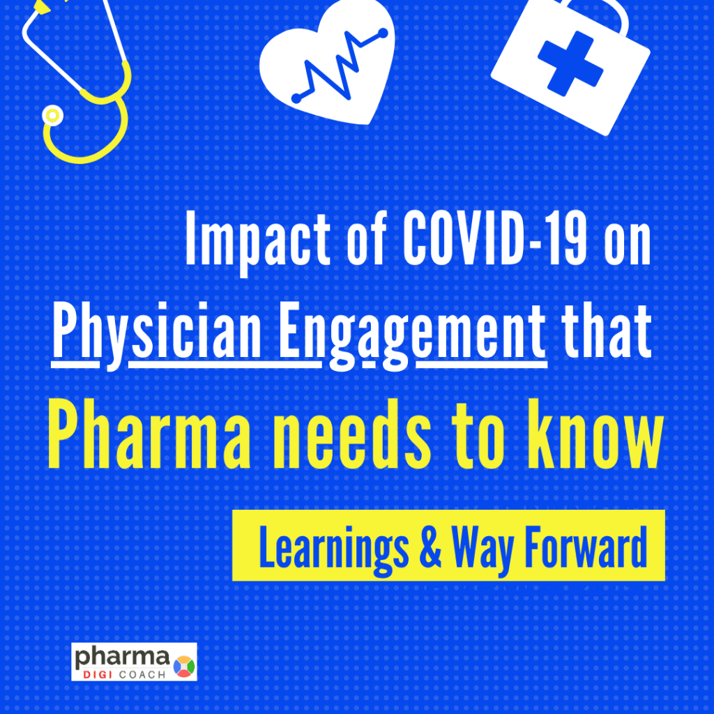 How has pharma marketing to healthcare professionals being affected during coronavirus?
